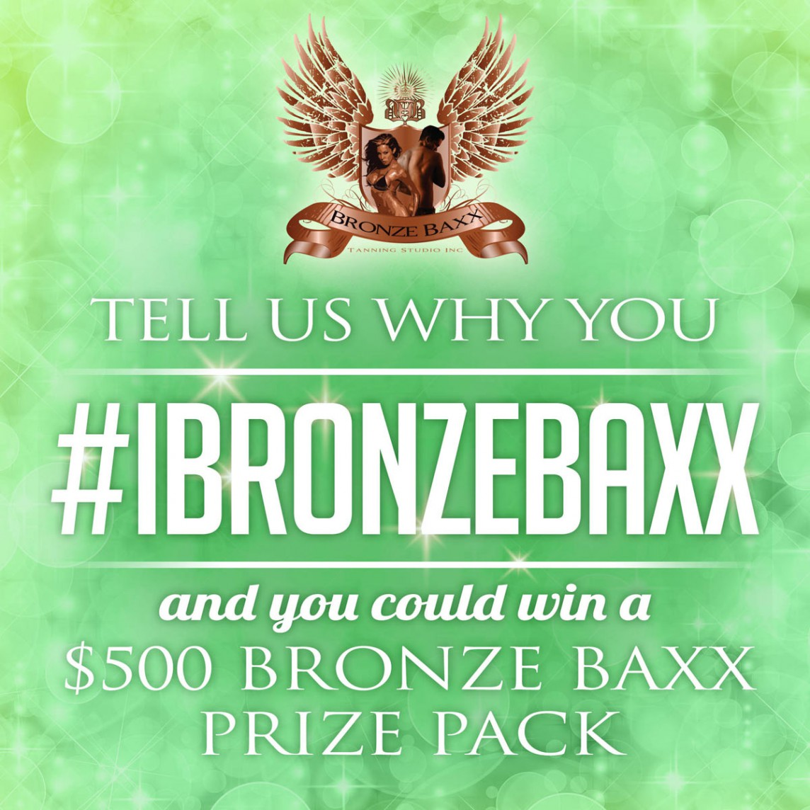 Win A 500 Bronze Baxx Tanning Studios Prize Pack